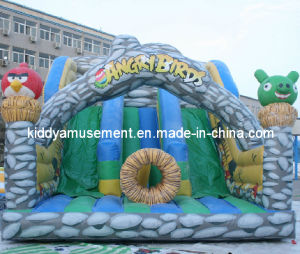 Inflatable Slide Park for Kids World