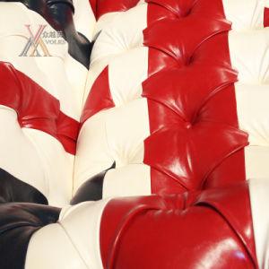 PU Leather British Style Sofa (PU-MI) pictures & photos