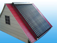 Solar Collector With Heat Pipe Vacuum Tube