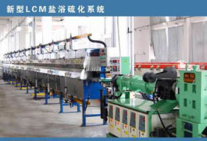 LCM Saltbath Vulcanization machine pictures & photos