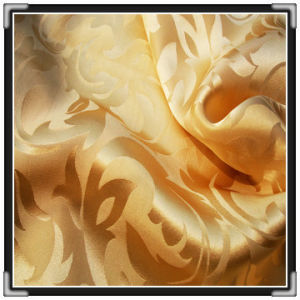 Silk Brocade Satin Fabric (14366)