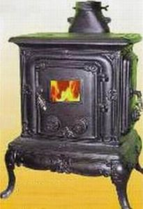 Cast Iron Wood Burning Stove (Cottage)