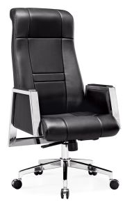 Leather Executive Swivel High Back Office Chair