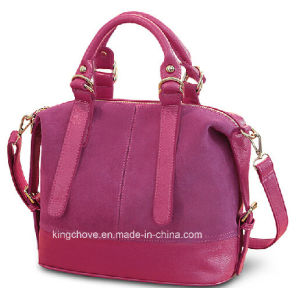 Best Selling and Hot Fashion PU Ladies Handbag (KCH147B) pictures & photos
