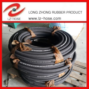 "SAE 100r1at1 1/2"" High Pressure Oil Rubber Hose"