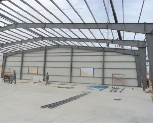 Pre-Engineered Steel Frame Warehouse/Workshop pictures & photos