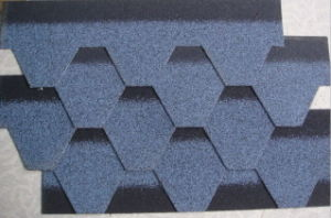 12 Colors Self Adhesive Bitumen Roof Tiles with ISO (Hot) pictures & photos