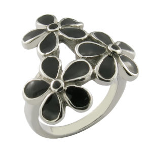 Steel Enamel Flower Ring Women Ring pictures & photos