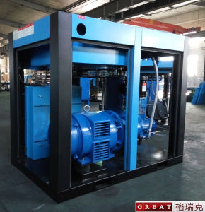 Direct Driven Type High Pressure Rotary Screw Air Compressor pictures & photos