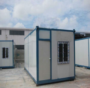 Safe and Durable 20ft Container House for Office Camp School pictures & photos