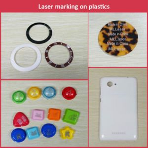 Mopa Fiber Laser Marking Machine for Alumnium Oxide Black Marking pictures & photos