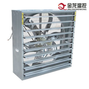 Jinlong Poultry/ Greenhouse/ Industry Ventilation Push-Pull Type Shutter Exhaust Fan pictures & photos