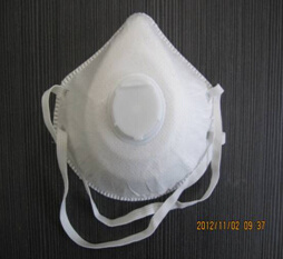 Non-Woven Disposable Mask with Exhalation Valve Against Dust and Odor pictures & photos