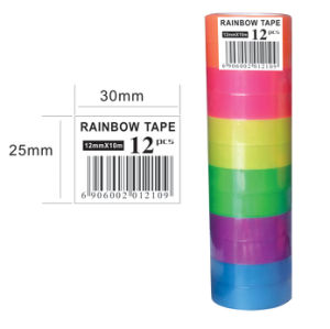Rainbow Color Stationer Tape for Student pictures & photos