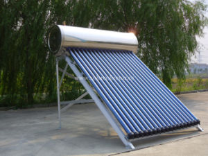 Compact Heat Pipe Pressure Solar Water Heater (ILH-58A18S-18H) pictures & photos