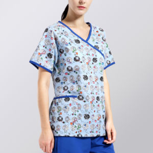 Professional Certificated Colorful Plain Printing Nurse Hospital Uniform Designs pictures & photos