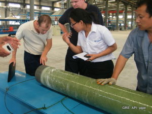 Glassfiber Reinforced Epoxy Casing Pipe pictures & photos