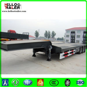 China Trailer Manufacturer with Sinotruk Tractor Low Boy Trailer pictures & photos