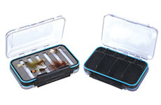 Double Side Clear Waterproof Tube Fly Box pictures & photos