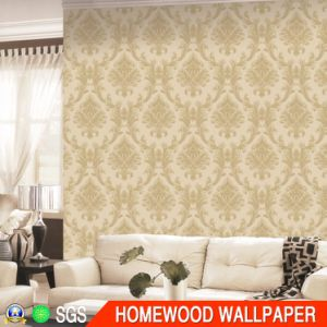 Deep Embossed Vinyl Wall Paper with Best Quality pictures & photos