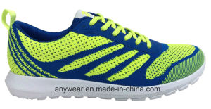 Men Gym Sports Shoes Flyknit Woven Upper (815-7739) pictures & photos