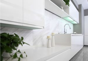 Lacquer MDF Australia Style Kitchen Cabinet (zz-077) pictures & photos