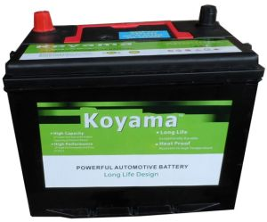 JIS Sealed Maintenance Free Car Battery -12V65ah (70D23MF) pictures & photos
