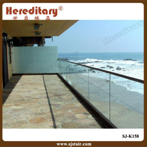 Frameless Glass Railing for Balcony Near The Sea (SJ-K158) pictures & photos