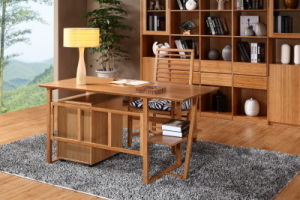 Modern Natural Bamboo Desk Furniture for Office or Home pictures & photos
