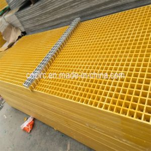 FRP /GRP /Fiberglass Moulded Mesh Grating Sheet pictures & photos