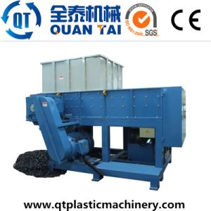 Double Shaft Shredder for Plastics Cutting pictures & photos