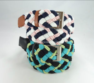Newly-Designed Fashion Weaving Canvas Belt