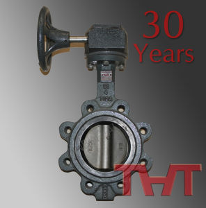 Worm Gear Lug Butterfly Valve Wafer Flange pictures & photos