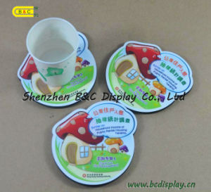 Design Cup Pad, Paper Coaster, Cardboard Cup Mat (B&C-G047) pictures & photos