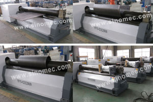 Mechanical Symmetrical 3 Roller Plate Bending Machine/Rolling Machine (W11-12X2500) pictures & photos