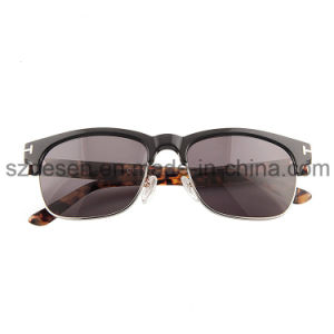 OEM/ODM High Quality Square Frame Acetate Sunglasses pictures & photos