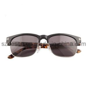 OEM/ODM High Quality Square Frame Acetate Sunglasses pictures & photos