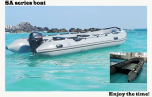 16.5′ SA Series Inflatable Boat Aluminium Floor Boat Work Boat Rescue Boat with CE China pictures & photos
