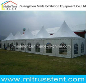 5X5m Aluminum Structure Gazebo Recreation Pagoda Tent pictures & photos