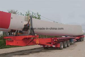 Wind Turbine Tower Transport Semi-Trailer/Transportation for Wind Turbine/Trcuk Trailer pictures & photos