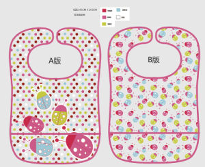 Printed Baby Bib in PEVA (HR02SP003) pictures & photos