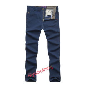 Men′s Casual Chino Fashion Long Trousers Pants (P-1504) pictures & photos