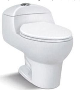 Ceramic One Piece Toilet for Mexico Market (6238) pictures & photos