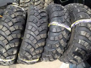 Cross-Country Tire, E2 Military Tire 15.5-20, Bias Tire for Excavator, OTR Tire pictures & photos