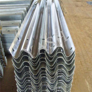 Highway W Beam Hot DIP Galvanized PV Crash Barrier
