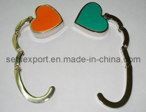 Heart Shape Folded Purse Hanger Purse Hook Bag Hanger