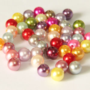 China 6mm Acrylic Loose Pearls, Plastic Acrylic Faux Round Pearls Beads for Jewelry pictures & photos