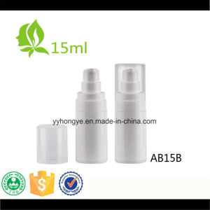 15ml Round Plastic PP Airless Cosmetic Pump Bottle Empty pictures & photos