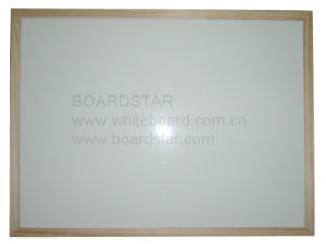 Wood Framed Dry Wipe Magnetic Whiteboard (BSTCO-W)