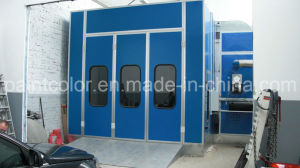 CE Standard Paint Booth with Double Layer Heat Exchanger (PC-EU-3S) pictures & photos